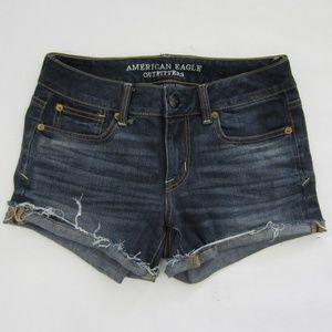 American Eagle Distressed Cutoff Jean Shorts *A13